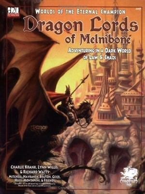 Dragon Lords of Melnibone: Adventuring in a Dark World of Law & Chaos-ExLibrary