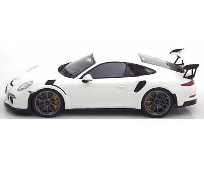 New 1/18 GT Spirit Porsche 911(991) GT3 RS White 504pcs