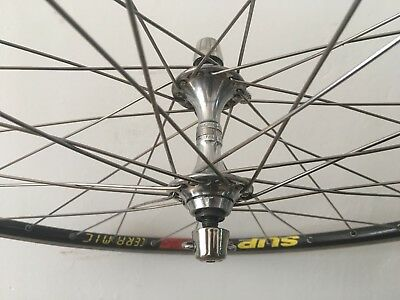 Campagnolo C Record Mavic Open SUP CD Ceramic Wheels Set 700c Road Bike 8sp