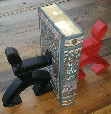 Black + Blum ~ James The Bookend ~ Red & Black ~ Rubber ~ Silicone ~ Pair ~