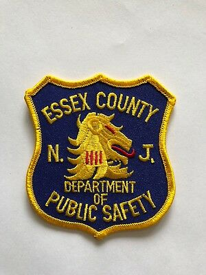 Old Essex County New Jersey Dept Of Public Safety Patch Unused
