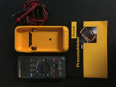 FLUKE 787 ProcessMeter / Multimeter, Manual, one set TEST Leads! Used one time!