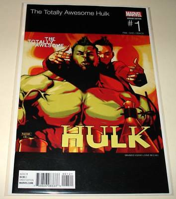 The TOTALLY AWESOME HULK # 1 Marvel Comic (Feb 2016)  NM  HIP HOP VARIANT