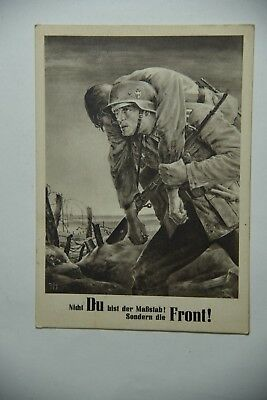 Cartolina ww2 German Front 1943 Reich Krekau NSDAP GENERALGOUVERNEMENT RSi RS1