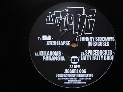 "V/A– Jigsore Rec.006 12""/Johnny Sideways/Humb/Spacedocker/Killabomb/Breakcore"