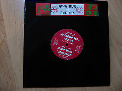 "Wendy Milan vs. B.C. Kid ‎–TV-Madness/ Das Gehämmer 10""/Shockwave Limited 01/Rar"