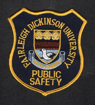 NEW JERSEY - Fairleigh Dickinson University Florham Campus Public Safety Patch
