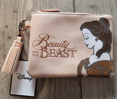 Disney Beauty & the Beast Belle coin purse BNWT
