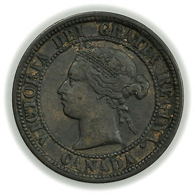 Canada KM#7 1876H Cent, Large Coin, Victoria I [3821.21]