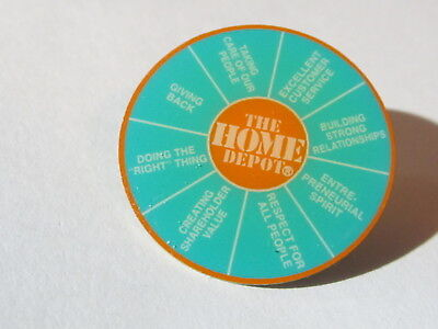 home depot collectibles the value wheel lapel pin