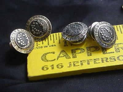 Four Procter & Gamble Service Pins 2 10K Gold 2 Sterling Silver GBM&Co Cinti, O