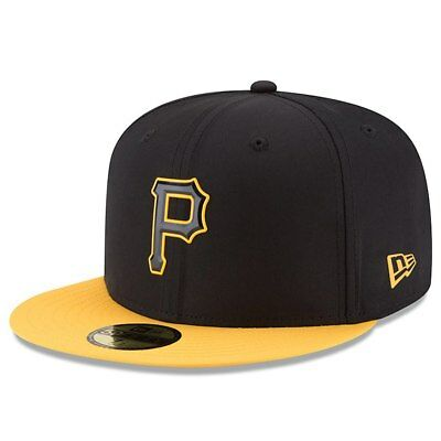 finest selection c34be b5d27 Pittsburgh Pirates New Era Black 2018 On-Field Prolight Batting Practice  59FIFTY