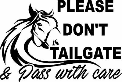 """HORSES ON BOARD Decal for Horse Trailer From 10""""-20"""" High ORACAL 651"""