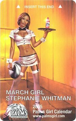 Las Vegas Palms Casino March Girl 2005 - Room Key
