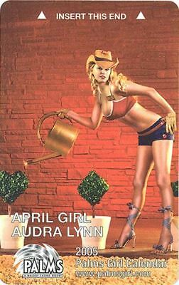 Las Vegas Palms Casino April Girl 2005 - Room Key