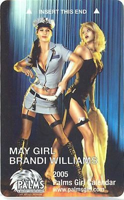 Las Vegas Palms Casino May Girl 2005 - Room Key