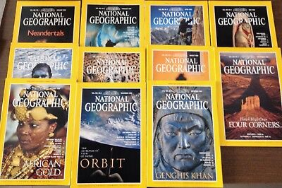 National Geographic Magazines - 1996 - American Edition, (All year minus March)