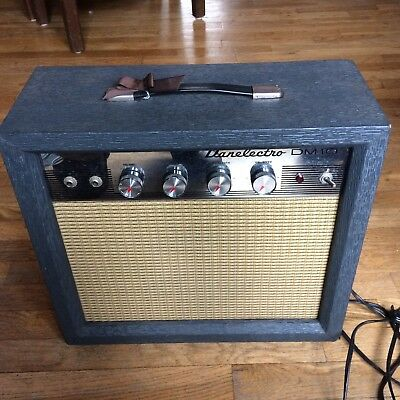 "Danelectro DM10 1x8"" All-Tube Vintage Guitar Amp 1965- Refreshed and RARE*"