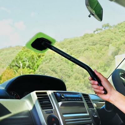 Car Windshield Cleaner Wipe Tool Inside Window Glass Cleaning Tool Durable Green