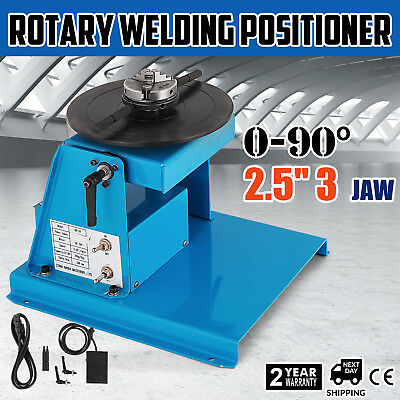 Welding Turntable Positioner 3 Jaw Stable 18mm Table LATEST TECHNOLOGY ON SALE
