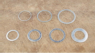 2pc Saw Blade Adjustable Washer Saw Hole Adapter Connecting Ring Reducing Gasket