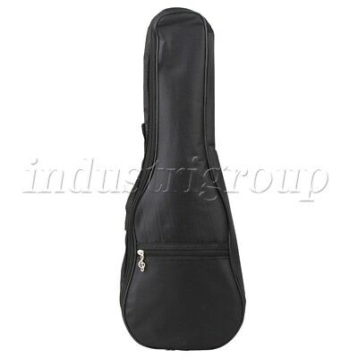 "23"" Black Ukulele Soft Case Padded Thick Gig Bag for Concert Ukelele Back Carry"
