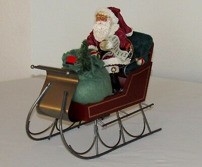 Vintage 1988 North Pole Santa from the Christmas Collection decoration