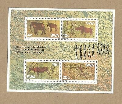 SWA: M/S MNH + Full set of 4 FDP'cards + FDC with Info + 22 diff used (Ref 034)