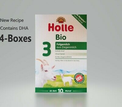 *4-Pack Holle Organic Goat Milk Formula Stage-3 400g  FREE SHIPPING EXp-11/2020