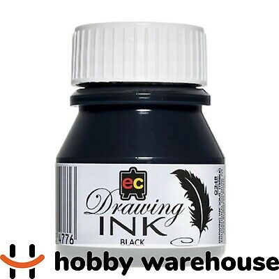 Educational Colours Drawing Ink 30ml Black