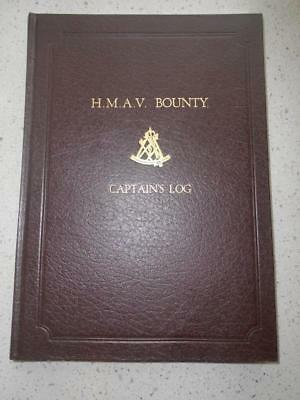 Rare limited 100 H.M.A.V. Bounty Captain's Log voyage to New South Wales Cook