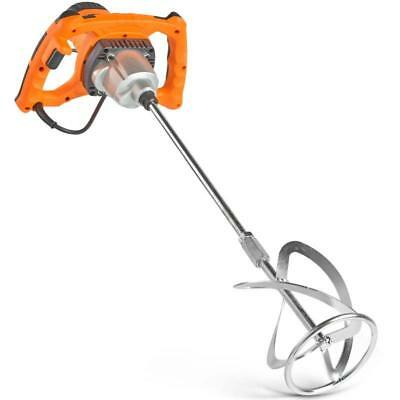 1600W Powerful Electric Cement Mortar Plaster Single Paddle Mixer Paint Stirrer