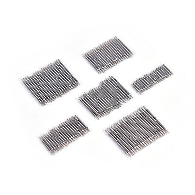 20PCS Stainless Steel Spring Bar Pins Link For Watch Band Strap Size 8-22mmPB