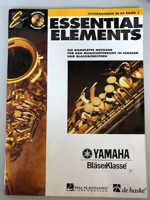 Essential Elements - Altsaxophon in Es, Band 1