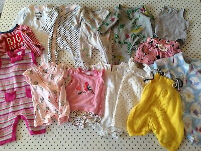 14 x Baby Girls Size 000 0-3 mths Country RoadSookibaby Bebe Minihaha Cotton On