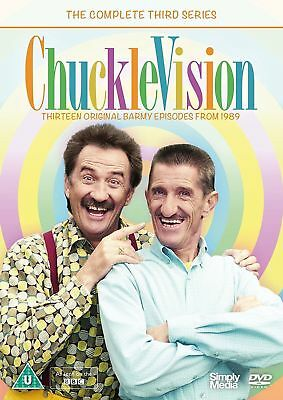 Chucklevision Complete Third Series New Dvd Barry & Paul Chuckle 13 Episodes