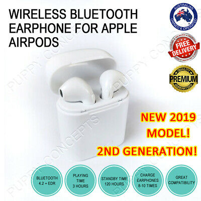 Wireless Bluetooth Earphone Headset For Apple iPhone 6 7 8 S Plus X Airpods