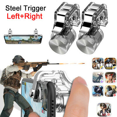 1 pair PUBG Mobile Phone Shooter Controller L1R1 Game Trigger For iPhone X  7 8