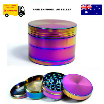 50mm Herb Grinder 4-Layer Smoke Hand Muller Crusher Metal Zinc Alloy Tobacco