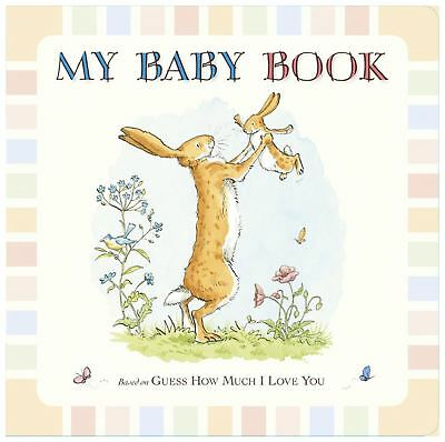 Rainbow Designs GUESS HOW MUCH I LOVE YOU BABY RECORD BOOK Baby Toys BNIP
