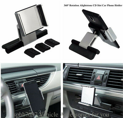 New Universal Car Slot Holder Mount For Cell Phone GPS iPhone Samsung Sat Nav