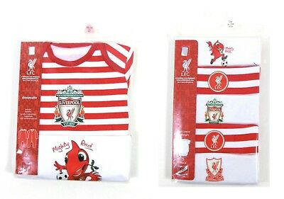 LFC Liverpool Football Club Baby 2 5 Pack Sleepsuits Bodysuits Mighty Red