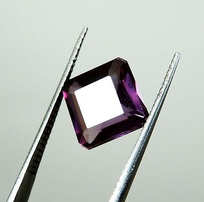 5.20 Ct. UNHEATED EMERALD CUT RARE COLOR CHANGE ALEXANDRITE GEMSTONE
