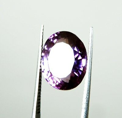 8.80 Ct. UNHEATED OVAL CUT RARE COLOR CHANGE ALEXANDRITE GEMSTONE