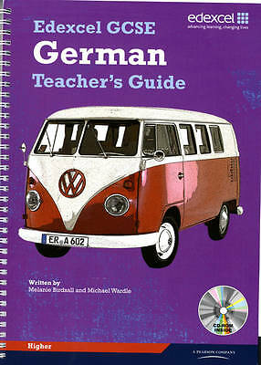 Edexcel GCSE German Higher Teachers Guide by Pearson Education Limited (Mixed...