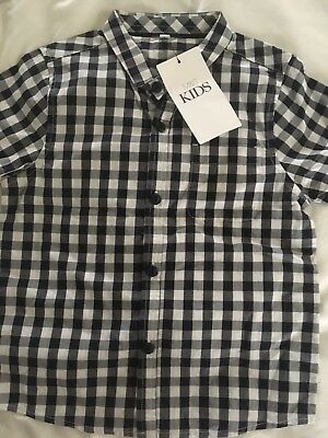 Boys Marks and Spencer Shirt. New With Tags 3-4