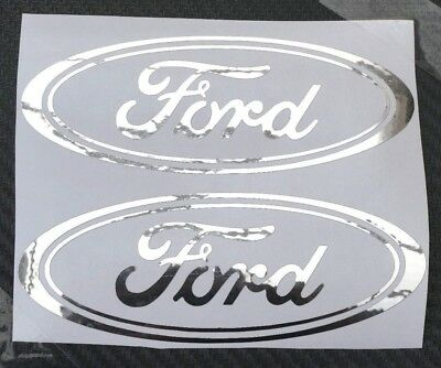 Ford Car Chrome sticker Fiesta Mondeo Focus KA door bumper