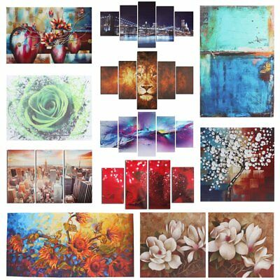 Huge Modern Abstract Canvas Painting Picture Print Wall Mural Hanging Home Decor