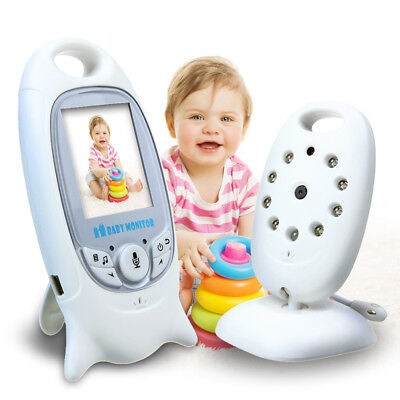"""Wireless Video Baby Monitor 2.0"""" Color Security Camera 2 Way Talk Night Vision"""