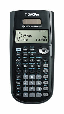 Texas Instruments TI-36X Pro Scientific Solar Powered Calculator - NEW